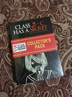 Class 3-C Has a Secret Book1 Vol.1&2 & Book2