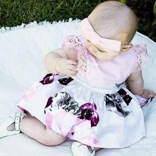 DRESS PINK BABY