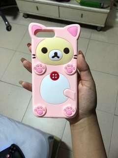 PINK RILAKKUMA IPHONE 7/8 plus