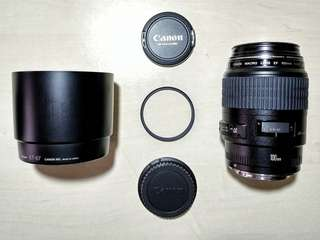 JUAL CANON 100mm f/2.8 MINT CONDITION