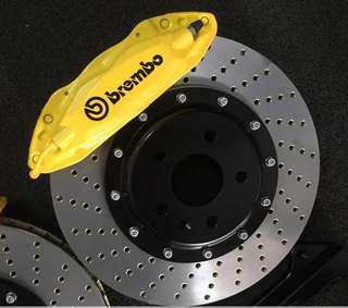 Brembo 4pot 355 front full set F10