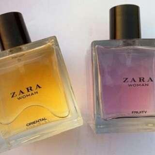 Paket Parfum Zara Oriental dan Fruity