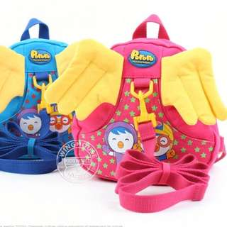 Pororo Angel Wings Anti-Lost Backpack