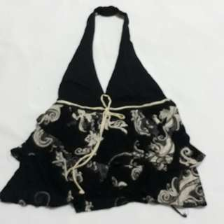Mng summer backless top