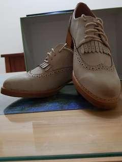 🚚 全新!髒髒復古綁帶短靴