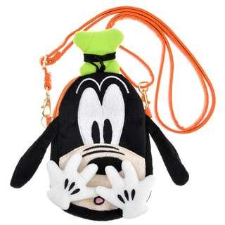 日本 Disney Store 直送 Goofy 高飛大頭仔斜揹袋