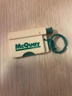Vintage McQuay Keychain