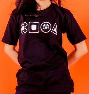 T-shirt Troiss Button