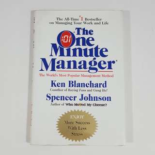 The One Minute Manager by Blanchard & Johnson [Hardcover]
