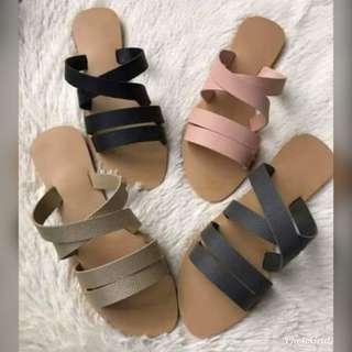 Marikina made slip on sandals