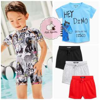 KIDS/ BABY - Tshirt/ short/ Sunsafe suit