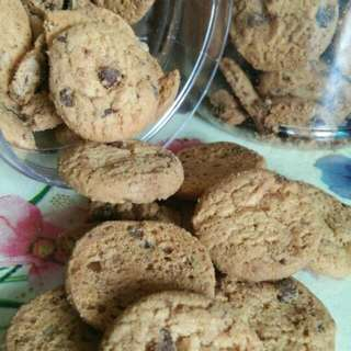 Chocolate Chips  Crunchy Cookies