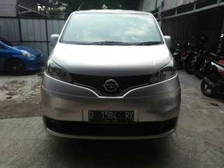 Nissan Evalia XV mt 2012 silver