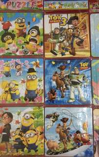 Childrens puzzle party giveaways