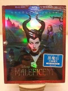 港版 黑魔后 Maleficent 2D+3D 藍光 紙套 Blu-ray
