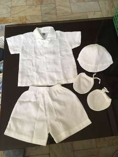 Baptismal Clothes for Baby Boy