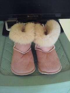 H&M Fur Boots 12cm
