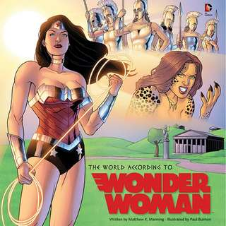 🚚 The World According To Wonder Woman [Hardcover]