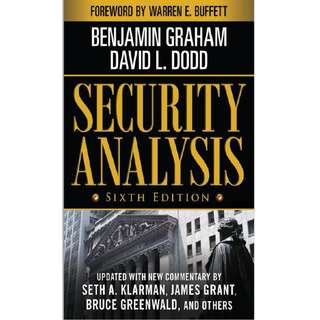 Security Analysis (E-Book)