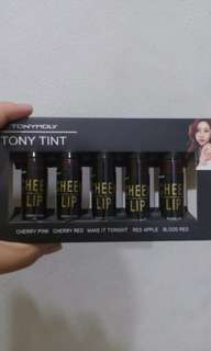 5 in 1 TONYMOLY LIP TINTS 💄💋