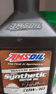 Amsoil fully synthetic