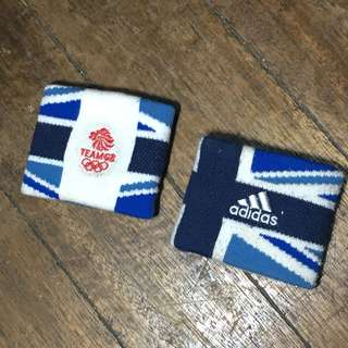 Adidas Wristband Team Great Britain (Pair)