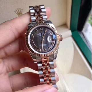 Rolex Datejust Rose Gold another Of Pearl Dial ETA3235 Swiss Engine