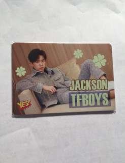 包郵Jackson TFBOYS Yes! Card 夜光