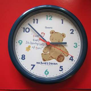 Mr Bear's Dream 熊仔掛牆鐘 (1994年)