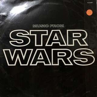 Star Wars Vinyl Record