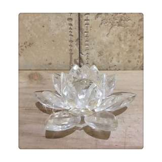 🚚 水晶玻璃蓮花