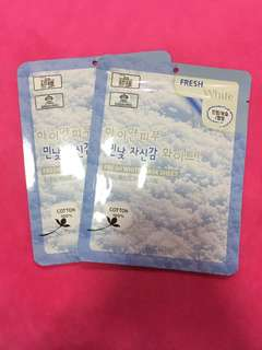 3w clinic facial mask sheet