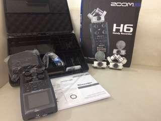 Original Zoom H6 handy recorder audio