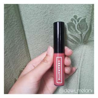 [PRELOVED] Emina Creamatte Lip Cream Mauvelous