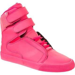 Supra Pink Hi Tops size 8