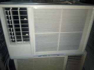 三洋窗型冷氣4~6坪使用