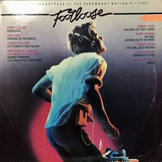 Footloose OST Vinyl Record