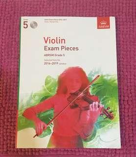 ABRSM Grade 5 Violin Exam Pieces with CD