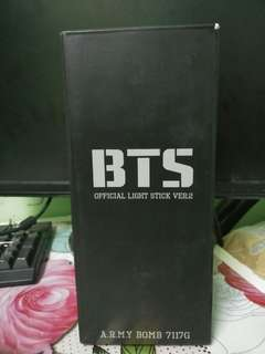 BTS LIGHT STICK ARMY BOMB VER.2