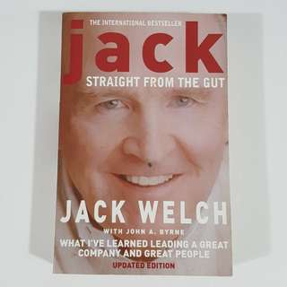 Straight from the Gut by Jack Welch