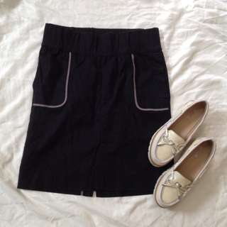 Gap Maternity Skirt (elastic waist)