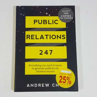 Public Relations 247 by Andrew Chow