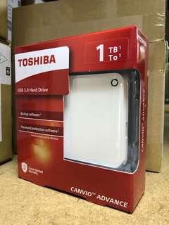 "Toshiba 1TB 2.5"" 外置硬碟 external hard disk"
