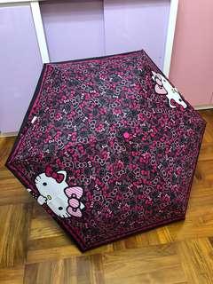 日本限定 Sanrio Hello Kitty 雨傘 縮骨遮 摺遮 雨遮