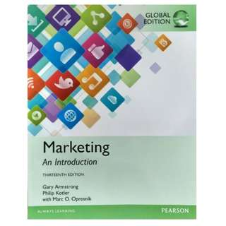 [BRAND NEW] Marketing: An Introduction, Global Edition, 13th Edition