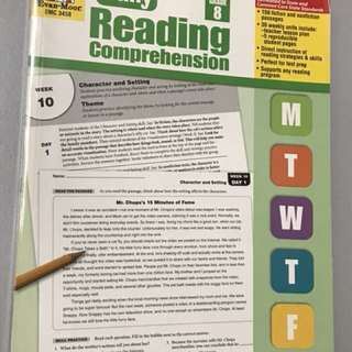 Grade 8 daily reading comprehension PSLE secondary assessment book