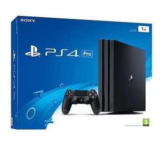 PS4 pro 2手制 加3 遊戲 加 12個月會藉加ES500R 颶風之翼軚盤