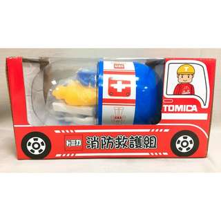 TOMICA消防救護組
