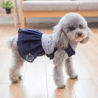 🚚 【預購】狗狗衣服可愛連體裙寵物春夏薄款連體衣夏季泰迪衣服小型犬公主裙
