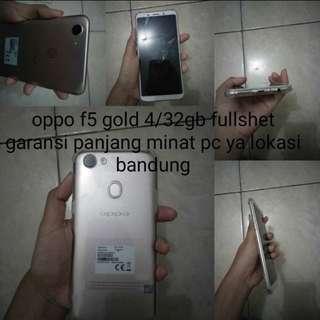Oppo f5 gold 4/32gb